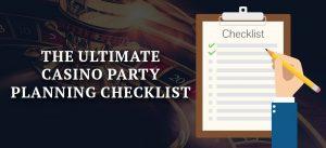 online casino checklist